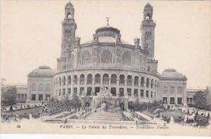 France Paris Le Palais du Trocadero