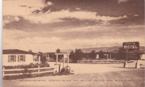 Arizona Wilcox The Frontier Motel sk2843