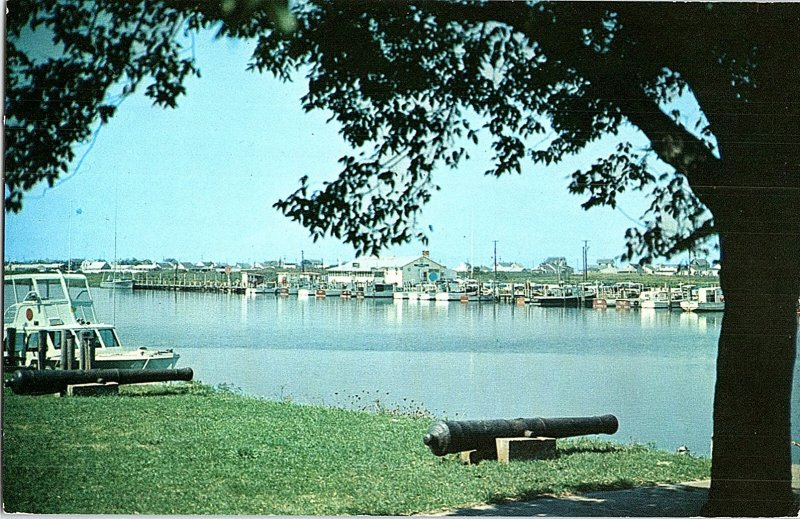 Chrome HISTORICAL SCENE Lewes - Near Rehoboth Beach Delaware DE AH8377