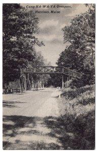 Harrison, Maine, Camp HA-WA-YA Overpass