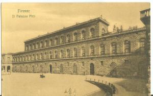 Italy, Firenze, Il Palazzo Pitti early 1900s unused Postcard