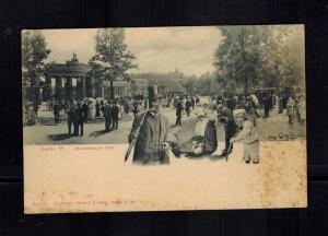Mint Postcard Black Americana Man in Suit in Berlin Germany