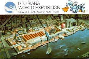 Louisiana World Exposition 84 Birds Eye View