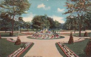 Illinois Chicago Scene In Humboldt Park