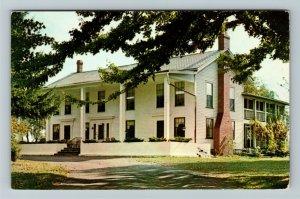 Burton OH- Ohio, Welshfield Inn, Cocktails, Restaurant, Chrome Postcard