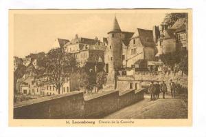 LUXEMBOURG, Chemin de la Corniche, 10-20s