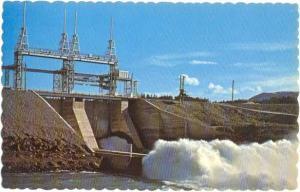 Whitehorse Rapids Hydro Dam near Whitehorse, Yukon, Canada,