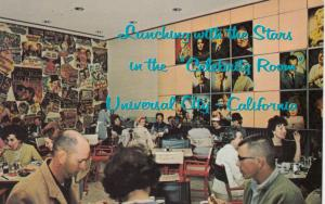UNIVERSAL CITY, California, 1950-60s; Lunching with the Stars, Celebrity Room