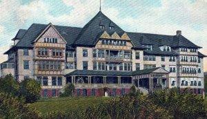 Pennoyer Sanitarium Kenosha Wisconsin Posted Divided Back Vintage Postcard