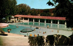 California Warner Springs Warner Guest Ranch Swimming Pool 1963