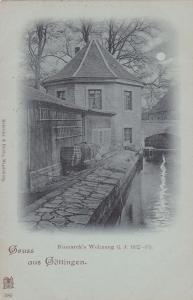 Gruss Aus Gottingen (Lower Saxony), Germany, 1890s ; Bismark's Wohnung