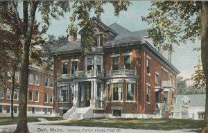 BATH , Maine , 1900-10s ; Catholic Parish House