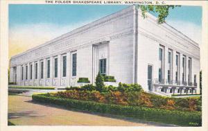 Folger Shakesperian Library Washington DC