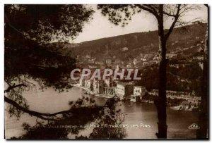 Old Postcard Villefranche Sur Mer A Travers les Pins