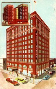 Iowa Des Moines The Savery Hotel 1969