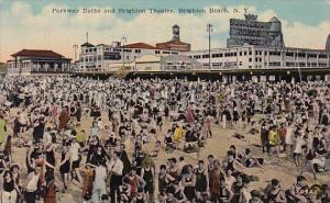 Parkway Baths And Bridgeton Theatre Brighton Beach New York
