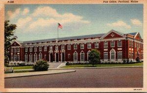 Maine Portland Post Office Curteich