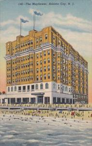 New Jersey Atlantic City The Mayfloer Hotel Curteich