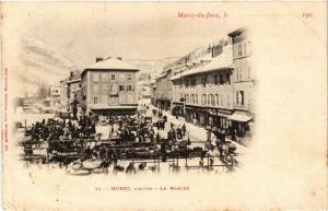 CPA MOREZ l'hiver - Le Marché (447331)