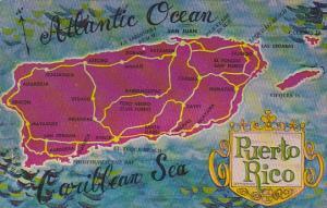 Puerto Rico Map Of Puerto Rico