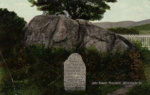 ADIRONDACKS , New York , 1900-10s ; John Brown's Monument