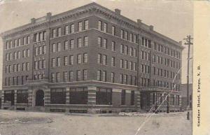 Gardner Hotel, Fargo, North Dakota, PU-1913