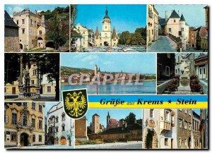 Postcard Modern Grusse aus Stein Niederosterreich Krems