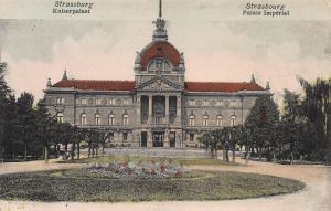Strasbourg, Germany, Imperial Palace, early postcard, unused