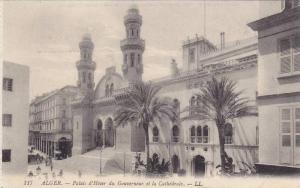Palais d'Hiver Du Gouverneur Et La Cathedrale, Alger, Africa, 1900-1910s