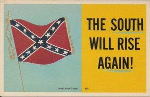 Confederate Flag, Civil War, 1969, The South Will Rise Again, Arcade Type PC