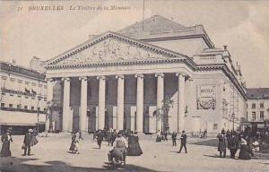 Belgium Bruxelles Le Theatre de la Mannaie