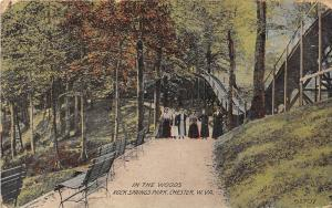 West Virginia Chester  Rock Springs Park, Women strolling