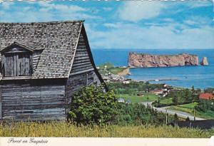 Canada Vestige du passe Perce Quebec