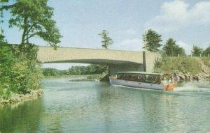 Postcard International Span of 1000 Islands Bridge New York