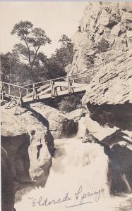 RP: Waterfall , COLORADO SPRINGS , Colorado , PU-1911; Bridge