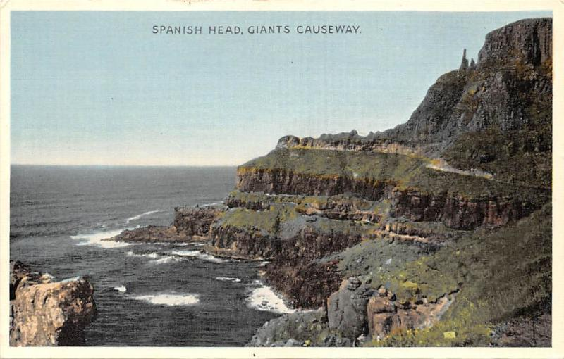 Northern Ireland Spanish Head, Giants Causeway