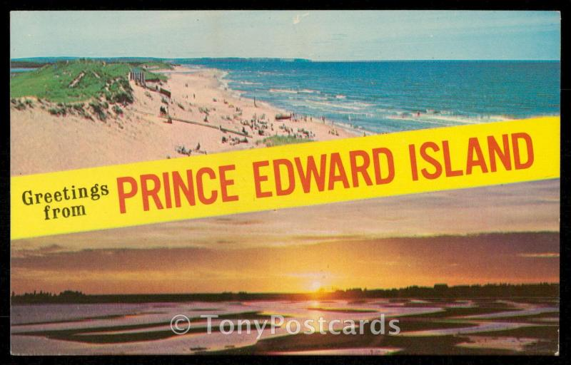 Greetings from PRINCE EDWARD ISLAND