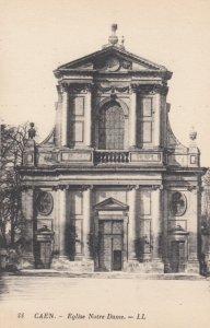CAEN, France, 1910-1920s, Eglise Notre-Dame