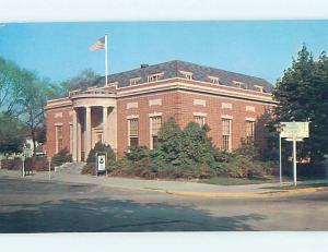 Unused Pre-1980 POST OFFICE SCENE Georgetown Delaware DE hs1061@