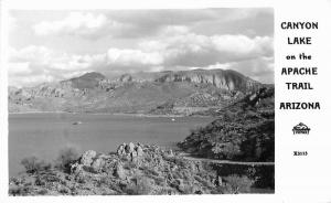 Apache Trail Arizona Canyon Lake 1940s Frasher RPPC Photo Postcard Frasher 5056