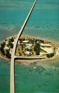 Florida Keys Seven Mile Bridge Over Pigeon Key 1952