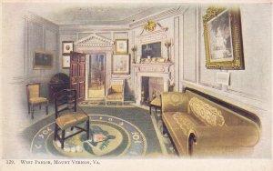 West Parlor , MOUNT VERNON , Virginia , 1901-07