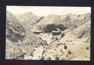 RPPC VERNAL UTAH DINOSAUR PARK VINTAGE REAL PHOTO POSTCARD