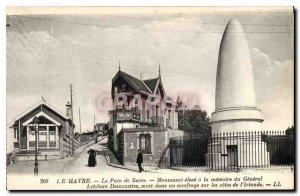 Old Postcard Le Havre Sugar Loaf