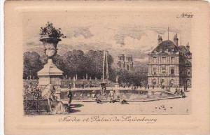 Luxemburg Jardine  et Palais du Luxembourg