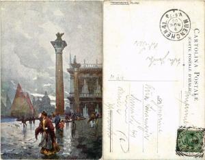 CPA Venezia Colonne di S. Marco. ITALY (449641)