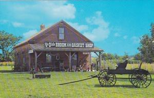 Iowa West Amana Ye Olde Broom and Basket Shop