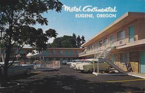 Swimming Pool, Classic Cars Outside the Motel Continental, Eugene, Oregon, PU...