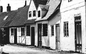 Scarboro ME Danish Village on US Route 1 Village Street RPPC Postcard