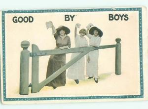 Divided-Back PRETTY WOMAN Risque Interest Postcard AA7976